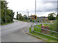 SK8174 : The A57 at Dunham on Trent by Alan Murray-Rust
