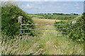 SW7013 : Farm gateway near Lizard by Bill Boaden