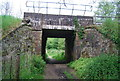 TQ5538 : Railway bridge over the Tunbridge Wells Circular Walk by N Chadwick