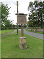 TL9174 : Honington village sign by Adrian S Pye
