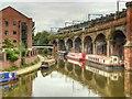 SJ8397 : Bridgewater Canal, Castlefield Viaduct by David Dixon