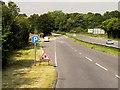 SU4928 : Layby on the A31 near Chilcomb by David Dixon