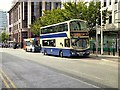 SJ8498 : Bus Stands at Lever Street by David Dixon