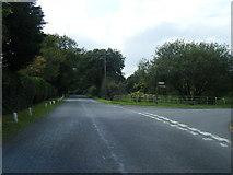 SJ6778 : Budworth Road/Budworth Heath Lane junction by Colin Pyle