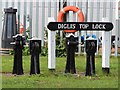 SO8453 : Diglis Top Lock by Oast House Archive