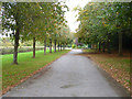 TQ0091 : Approach to Chalfont St. Peter cemetery by Robin Webster