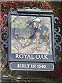 ST6601 : Royal Oak pub sign by John M