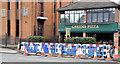 J3873 : The Upper Newtownards Road (EWAY), Ballyhackamore, Belfast - October 2014(2) by Albert Bridge