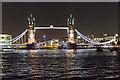 TQ3380 : Tower Bridge from the River Thames by Christine Matthews