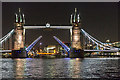 TQ3380 : Tower Bridge from the River Thames by Christine Matthews