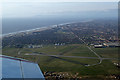 SD3131 : Blackpool Airport from the air by Ian Taylor
