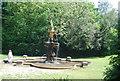 TQ6039 : Terracotta Fountain by N Chadwick