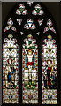 TQ9240 : East Window, St Margaret's church, Bethersden by Julian P Guffogg