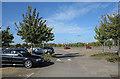 TL4754 : Car park at Babraham Park and Ride by Trevor Littlewood