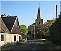 TL3368 : Fen Drayton: Church Street by John Sutton