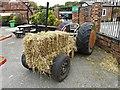 SJ5970 : Straw tractor by Richard Hoare