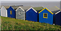 TM5075 : Beach huts, Southwold : Week 43