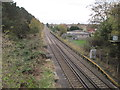 SJ4069 : Upton-by-Chester railway station (site), Cheshire by Nigel Thompson
