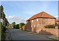 SK7890 : Former barn on Low Street by Alan Murray-Rust