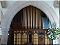 SK9716 : Church of St Mary:  Organ pipes by Bob Harvey