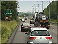 "SJ8743 : Stoke ""D"" Road (A500) by David Dixon"