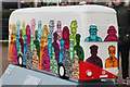 TQ3280 : Bus Art, 'Route Masters' by Oast House Archive