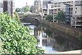 SJ8398 : Victoria bridge, River Irwell by N Chadwick