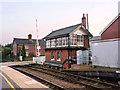 TF4958 : Wainfleet signal box by Alan Murray-Rust
