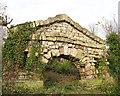SK6389 : Decorative arch folly, Serlby Park by Alan Murray-Rust