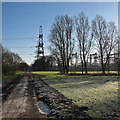 TL5767 : Burwell Electricity Sub-Station by John Sutton