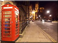 SE6052 : York: telephone box in Duncombe Place by Chris Downer