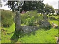 SX5384 : Ruins of Doe Tor Farm by Derek Harper