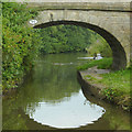 SJ9275 : Woods Bridge north of Macclesfield, Cheshire by Roger  Kidd