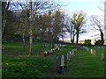 TQ3503 : St Wulfran, Ovingdean: churchyard (xi) by Basher Eyre