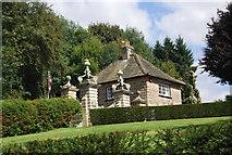 SE3457 : Lodge, Scriven Park by N Chadwick