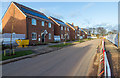 SP2754 : New houses on Grantham Road by David P Howard