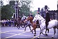 NT2473 : Mounted police on Princes Street by kim traynor