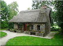 S5036 : Cottage in the Famine Garden, Newmarket by Humphrey Bolton