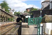 SE3457 : Knaresborough Station by N Chadwick