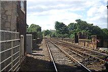 SE3457 : Crossing Knaresborough Viaduct by N Chadwick