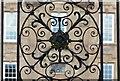 SK6405 : Close up of Scraptoft Hall gates by Mat Fascione