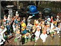 SJ5970 : Gnomes and garden ornaments by Gerald England