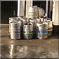 TL3856 : Barrels in the sun by Alan Murray-Rust