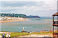 SX9372 : Across Teign Estuary to Teignmouth from Shaldon, 1987 by Ben Brooksbank