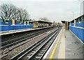 TQ2379 : Goldhawk Road underground station, London by Nigel Thompson