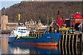 NM8530 : Burhou I at North Pier, Oban : Week 3