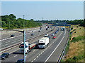 TQ0284 : M25 south of junction 16 by Robin Webster