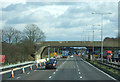 SP9736 : Bridge over the M1 near Ridgmont by JThomas