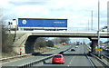 SP9537 : Bridge over the M1, Junction 13 by JThomas