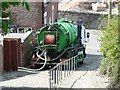 SJ9593 : Drain cleaning at the Werneth by Gerald England